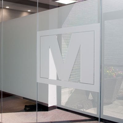 Glass Art And Logo Panels