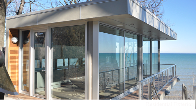 Highland Park Glass Sliding Patio Door