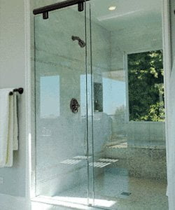 Flossmoor sliding doors for your bathroom
