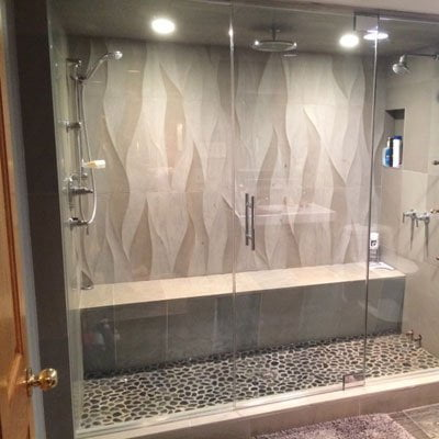 Glass Steam Shower Enclosures
